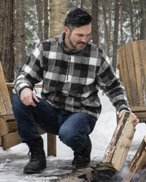 243 – Quarter-zip Cabin sweater – unisex
